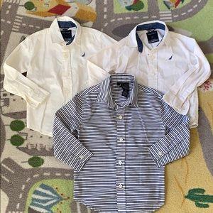 Boys Nautica Button Up Shirt Bundle